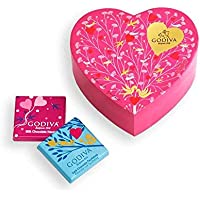 Godiva 6-Piece Valentines Day Mini Chocolate Heart Box