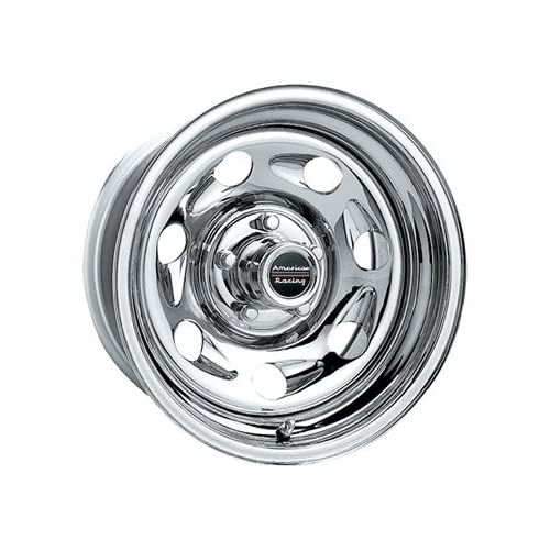 American Racing Tailgunner 15x7 Chrome Wheel / Rim 6x5.5 with a 0mm Offset and a 108.00 Hub Bore. Partnumber AR7725783