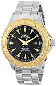 Invicta Men's 12556SYB Pro Diver Analog Display Japanese Quartz Silver Watch