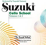 Suzuki Cello School CD, Volume 1 & 2 - CD