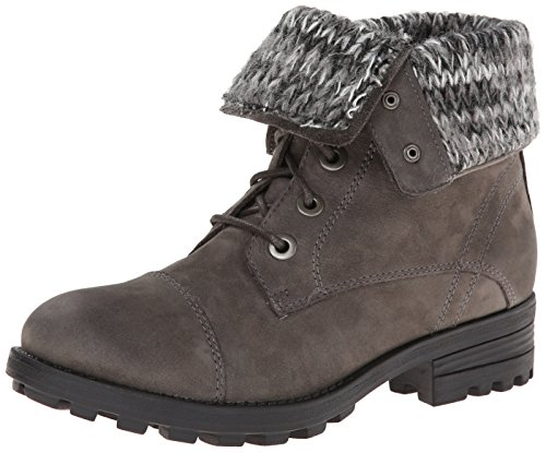 Aldo Women's Prarien Combat Boot, Grey, 37 EU/6.5 B US