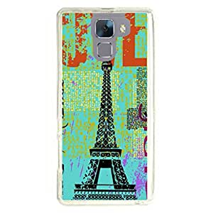 a AND b Designer Printed Mobile Back Cover / Back Case For Huawei Honor 7 (HON_7_3180)