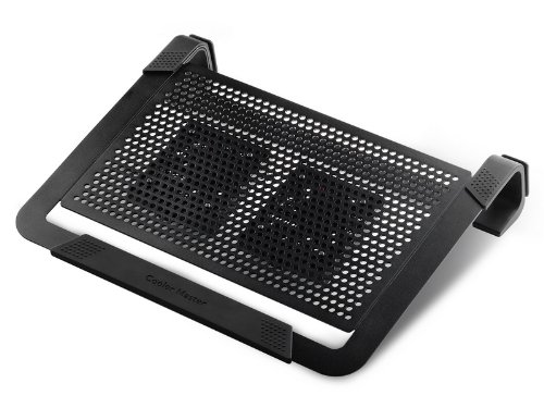 Cooler Master NotePal U2 PLUS - Laptop Cooling Pad with 2 Movable High Performance Fans (Black) (Cooler Master U3 compare prices)