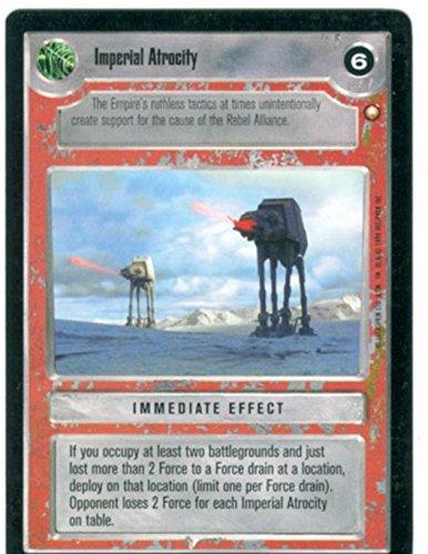 Star Wars-CCG, edizione speciale Atrocity imperiale