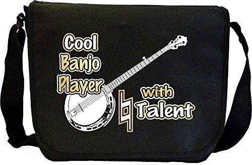Banjo-Cool-Player-Natural-Talent-Sheet-Music-Document-Bag-Musik-Notentasche-MusicaliTee