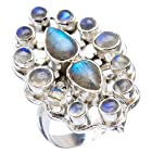 Ana Silver Co Labradorite 925 Sterling Silver Ring Size 6.5 Jewelry