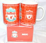 Liverpool FC Ceramic Novelty Mug in gift box