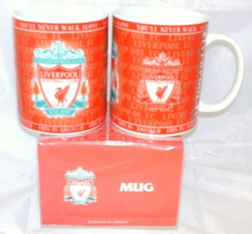 Liverpool FC Ceramic Novelty Mug in gift box