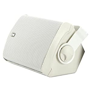 Buy Poly-Planar 5-Inch x 7-Inch Compact Marine Box Speakers (White, Pair) by Poly-Planar