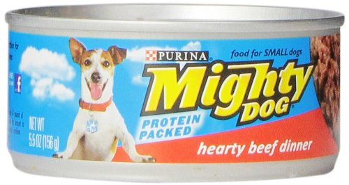 Mighty Dog Hearty Beef Dinner, 5.5-Ounce Cans (Pack Of 24)