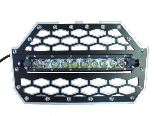 "Tigerlights Tlrzr1000Swl - Polaris Rzr 1000 Grille With 10"" Led Light Bar"