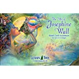 The Art of Josephine Wall - Blank Fantasy Card Set by Leanin' Tree (AST90636) - 20 cards with full-color interiors and 22 designed envelopes