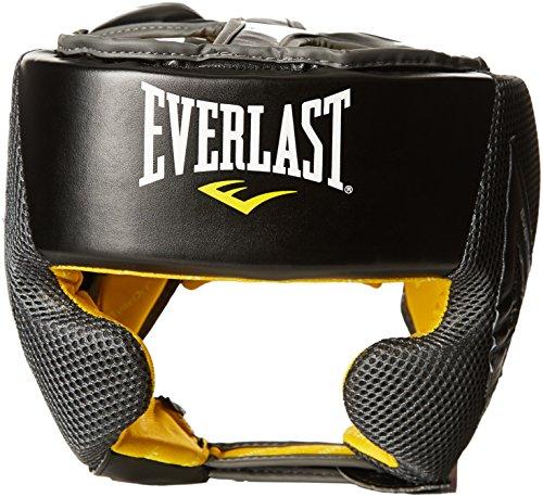 Everlast Erwachsene Boxartikel 444 Evercool Headgear, Black, 0, 057158 03005