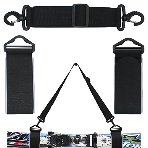 ONE Picece Adjustable Ski Shoulder Carrier Ski Shoulder