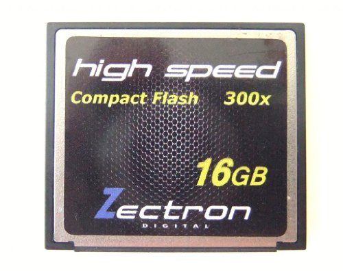 Zectron High Speed 16GB Compact Flash High Speed Memory Card with reader for Canon EOS-10D, EOS-1D, EOS-1D Mark II, EOS-1D Mark II N, EOS-1D Mark III, EOS-1Ds, EOS-1Ds Mark II, EOS-1N, EOS-20D Digital, EOS-300D, EOS-30D, EOS-350D, EOS-40D, EOS-5D, EOS-D30, EOS-D60, EOS-DCS 5, EOS-DCS2000, DIGITAL CAMERA