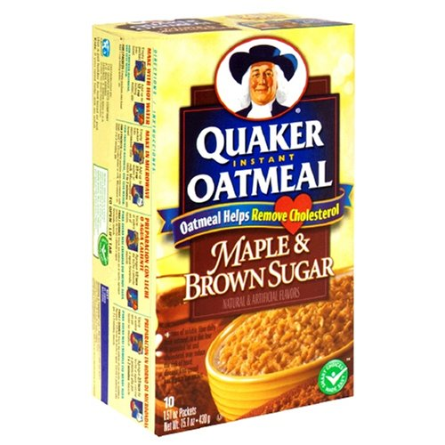 Quaker Instant Oatmeal (Pack Of 3)