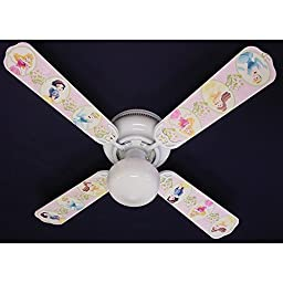 Ceiling Fan Designers Disney Princesses Dancing Indoor Ceiling Fan