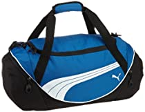 PUMA Men's Teamsport Formation 20 Inch Duffel Bag, Blue, One Size