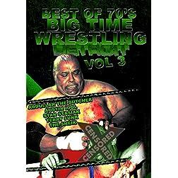 Best Of 1970s Big Time Wrestling Vol 3