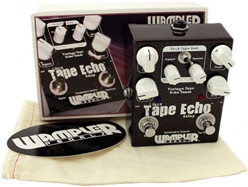 Wampler Faux Tape Echo (W/Tap Tempo) Guitar Effects Pedal