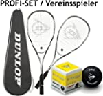 DUNLOP 2x Blackstorm Force Squashschl...