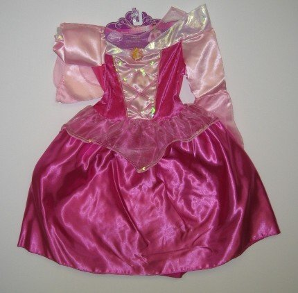 Disney Princess Sleeping Beauty's Dreamy Dress Fits Sizes 4-6
