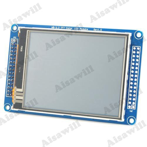 "3.2"" Color Tft Touch Lcd Screen Module For Arduino / Mcu Learning Development"