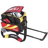 ABS ボウリング バッグ B16-1380 レッド/イエロー ボール 2個用 ショート カート ボウリング用品 ボーリング グッズ