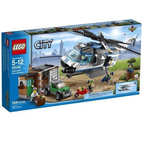 レゴ シティ ポリスヘリコプターとドロボウのかくれが 60046