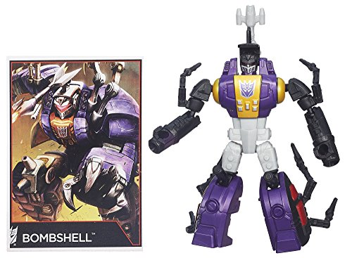 Transformers Generations Legends Class Insecticon Bombshell Figure - 1