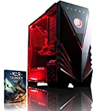 VIBOX Submission 29A - New 4.2GHz Eight 8-Core, GTX 960, Water Cooled, Extreme Performance, Desktop Gaming PC, Computer with WarThunder Game Bundle, Neon Red Internal Lighting Kit PLUS a Lifetime Warranty Included* (4.0Ghz (4.2GHz Turbo) AMD FX 8350 New Eight 8-Core Processor, 2GB Nvidia Geforce GTX 960 Graphics Card, Raijintek Triton Water Cooler, 1TB HDD Hard Drive, 16GB Kingston HyperX 1600MHz RAM, No Operating System Included)