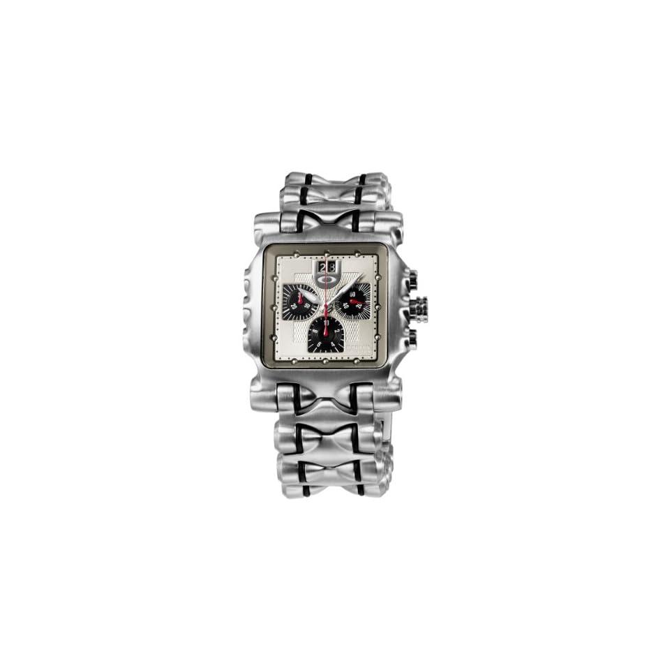 63ffccbe909 Oakley Mens 10 193 Minute Machine Titanium Bracelet Edition Titanium  Chronograph Watch