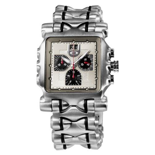 8eece4ce0c6 Oakley Men s 10-194 Minute Machine Titanium Bracelet Edition Titanium  Chronograph Watch