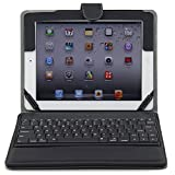 Ruban iPad Air Keyboard Case, Removable Wireless Bluetooth Keyboard Case Cover with Auto Wake Sleep, Tablet Stand for iPad Air 1,2 - Black