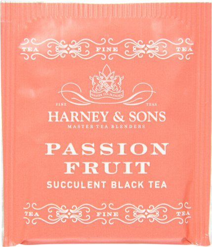 Harney and Sons Tea Bags, Passion Fruit, 50 Count