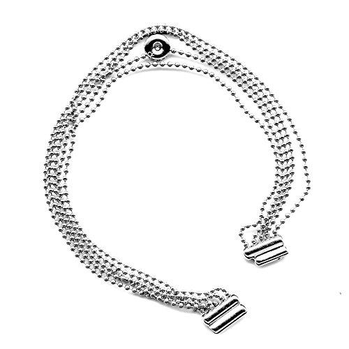 Calvin Klein Bracciale in Acciaio da Donna con Piccolo Diamante Incastonato (S)