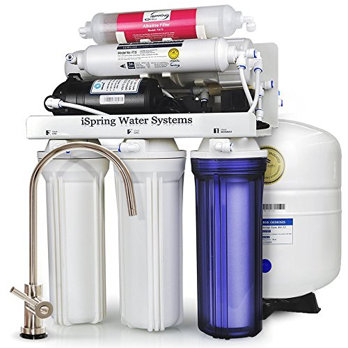 iSpring-RCC7P-AK-WQA-GOLD-SEAL-6-Stage-75GPD-Reverse-Osmosis-Water-Filter-System-with-Real-not-Permeate-Booster-Pump-110v-220v-compatible-and-Alkaline-Mineral-stage