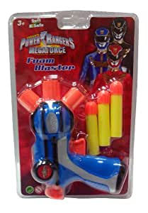 Impulse Power Rangers Foam Blaster, Blue/Yellow