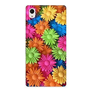 Special Art Sunflower Print Back Case Cover for Sony Xperia M4
