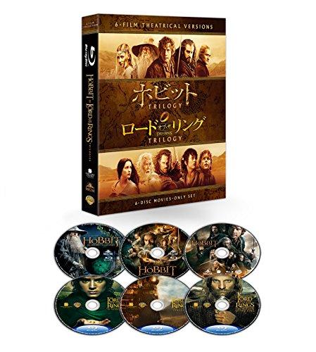 【初回仕様】ロード・オブ・ザ・リング&ホビット 劇場公開版 ブル...[Blu-ray/ブルーレイ]