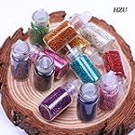 12 bouteilles aux couleurs vari�es On...