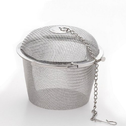 Stainless steel seasoning ball spices flavor pot tea bag medpac Large