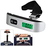 Bulfyss Luggage Travel Weighing Scales - Silver Handle - Upto 50Kgs Model YS036 (1 Year Warranty)