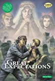 img - for Great Expectations The Graphic Novel: Quick Text (American English) book / textbook / text book