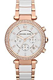 Michael Kors MK5720 43mm Gold Steel Bracelet & Case Mineral Women's Watch