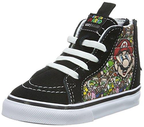 Vans SK8-Hi Zip, Scarpe Primi Passi Unisex - Bimbi 0-24, Multicolore ((Nintendo) Mario and Luigi/True White), EU