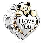 Valentine's Day 925 Silver Heart I Lo...