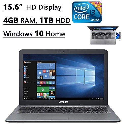 Asus X540LA-SI30205P 15.6-Inch Laptop (Intel Core i3, 4GB Memory,1TB Hard Drive, Windows 10 Home), Silver