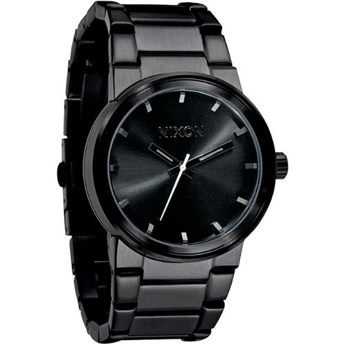 Nixon Cannon Watch - Men's All Black, One Size