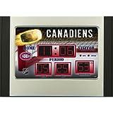 Montreal Canadiens Scoreboard Alarm Clock